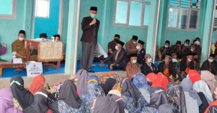 Bupati Adirozal Hadiri Acara Penyambutan 1 Muharam 1443 H di Desa Lindung Jaya