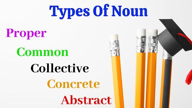 Kinds of Noun