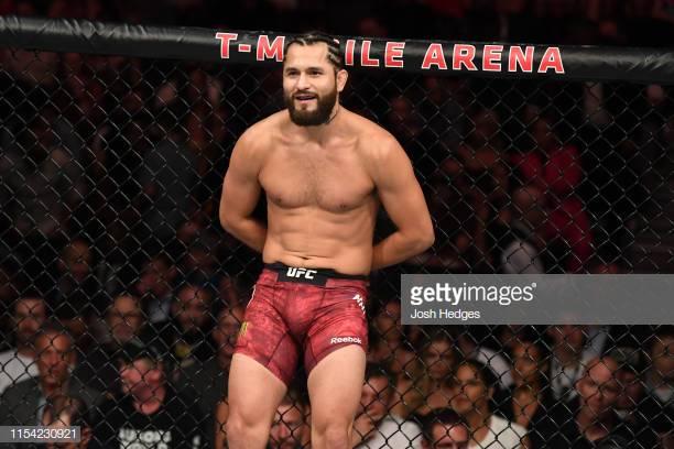 Kamaru Usman's reaction after Jorge Masvidal challenged him to fight