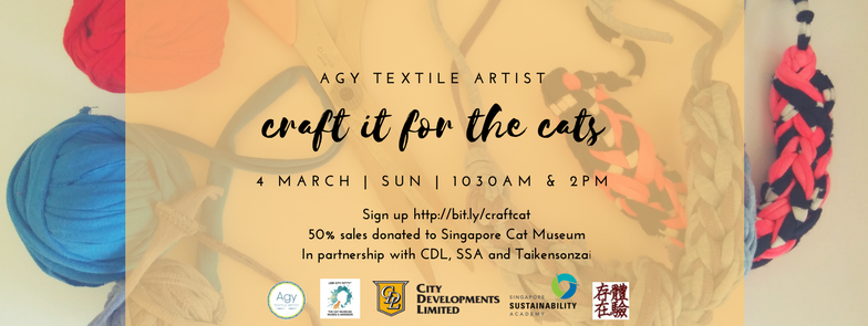Craft it for the Cats - Help Save Singapore Cat Museum!
