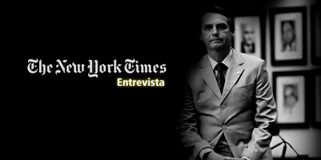 New York Times entrevista o Deputado Federal Jair Bolsonaro