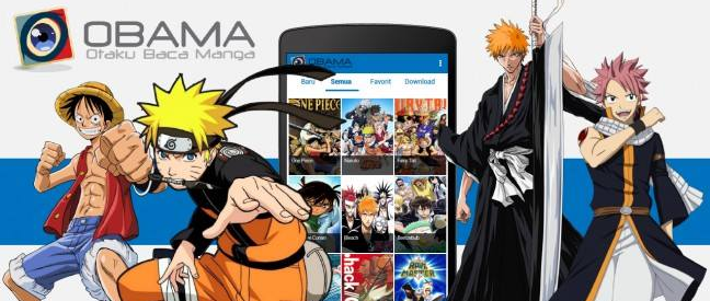 OBAMA Apk Android,Aplikasi Baca Manga + Text Indonesia