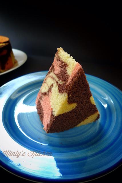 Minty S Kitchen Neapolitan Marble Sponge Cake