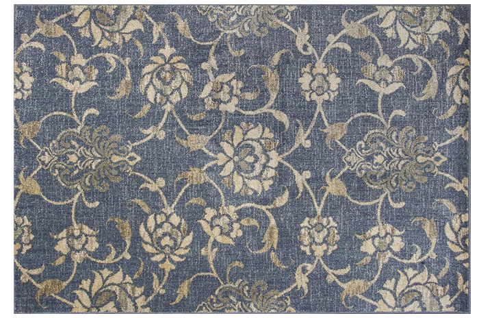 Blue Rug from Rugs Direct | 20 Classic Style Rugs for Any Budget at www.andersonandgrant.com