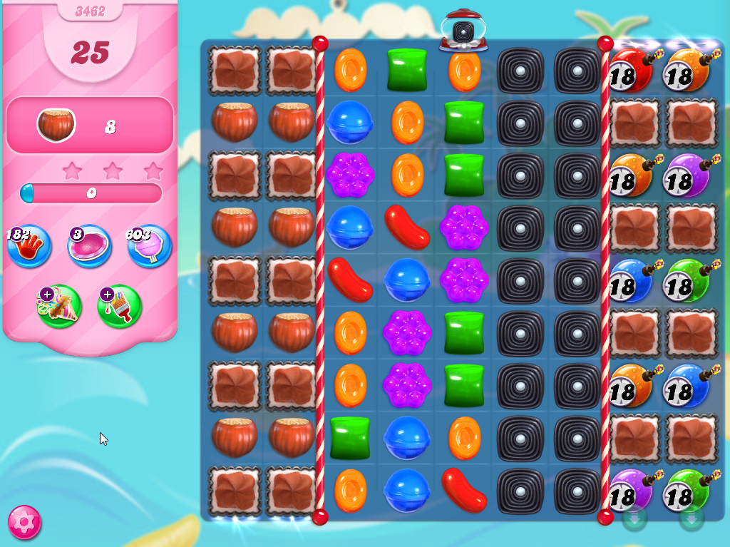 Candy Crush Saga level 3462