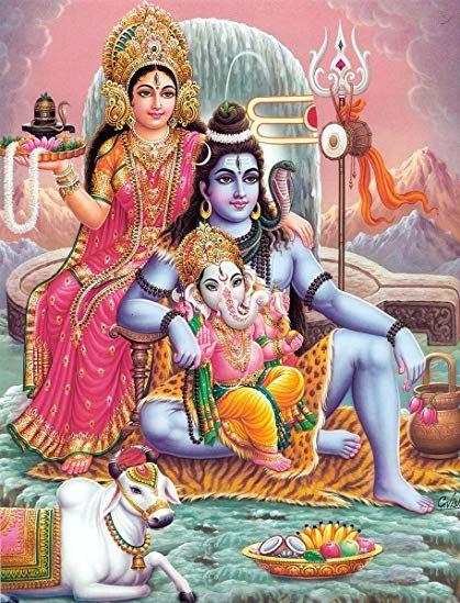 god shiva and goddess parvati 4
