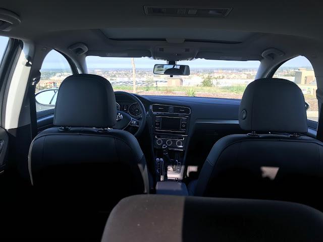 Interior of 2020 Volkswagen Golf TSI