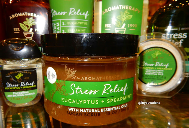 Bath & Body Works - Stress Relief 'Eucalyptus Spearmint' Sugar Scrub - www.modenmakeup.com