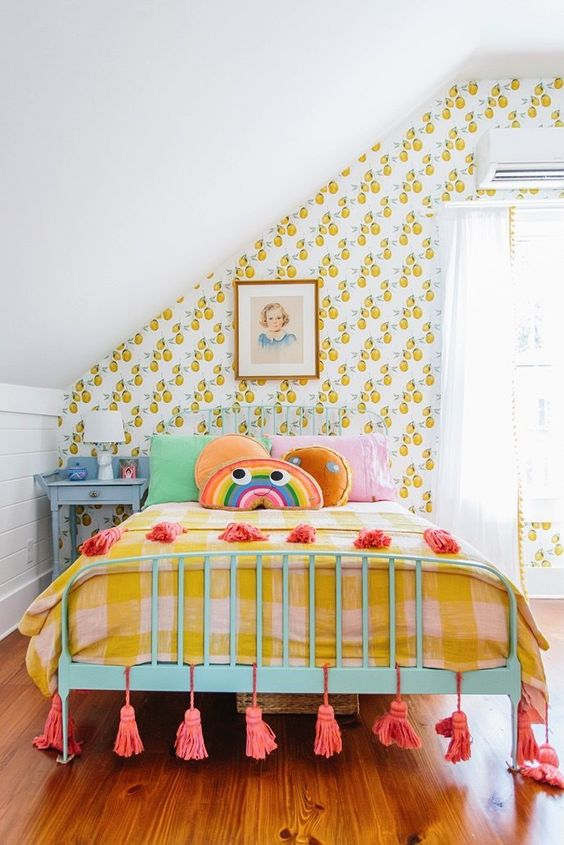 Yellow Ochre is The It Color Of The Summer-design addict mom #kidsroom