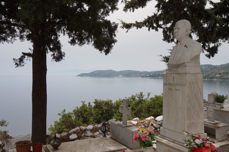 Cemetery of Skiathos (Skiathos island, Greece)