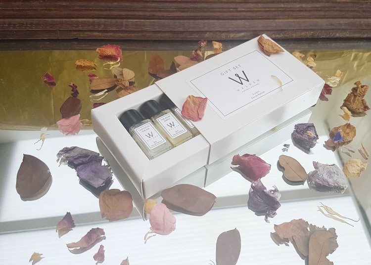 Walden Natural Perfume Review - Sample Gift Set 5ml