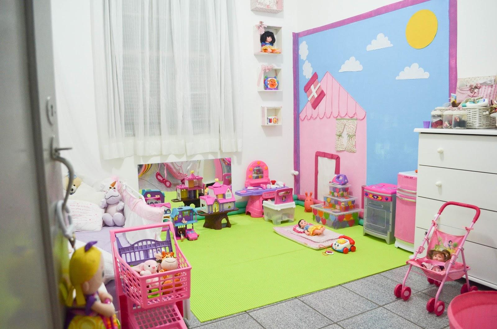 Tapete Para Quarto De Brinquedo Redival Com ~ Organizando O Quarto De Brinquedos