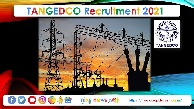 TANGEDCO Recruitment 2021 2900 Field Assistant (Trainee) Posts