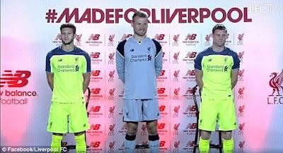 Liverpool Rilis Jersey Ketiga Bernama Toxic Thunder Berita Bola Liverpool Rilis Jersey Ketiga Bernama Toxic Thunder