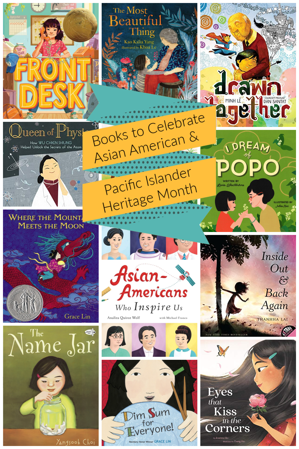 Books to Celebrate Asian American and Pacific Islander Heritage Month