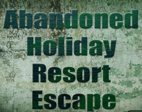 Play Escape007Games Abandoned Holiday Resort Escape
