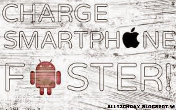 Smartphone charging image