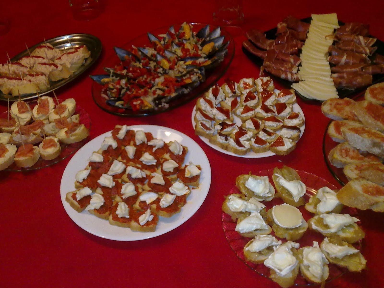 Alba hogar mesa buffet pintxos for Cocina moderna tipo buffet