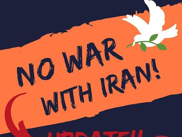 Peace Vigil- No War With Iran! Jan 9th