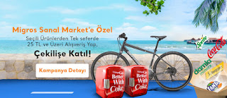 Migros Sanla Market Coca Cola Çekilişi