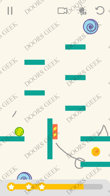 Draw Lines Level 167 Solution, Cheats, Walkthrough 3 Stars for Android and iOS