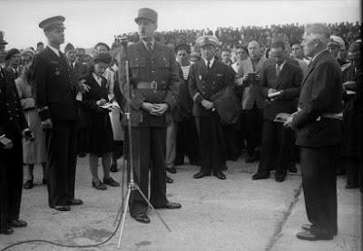 De Gaulle à Sein - @DR