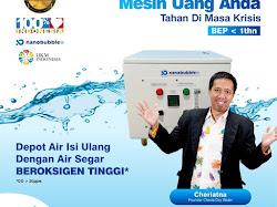 Bisnis Anti Krisis, Berkembang Bersama Cheria Oxy Water