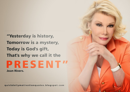 JOAN RIVERS GREATEST QUOTE