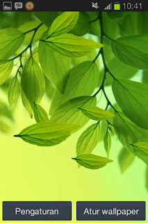 Live Wallpaper Samsung Galaxy S3 Leaf Android apk