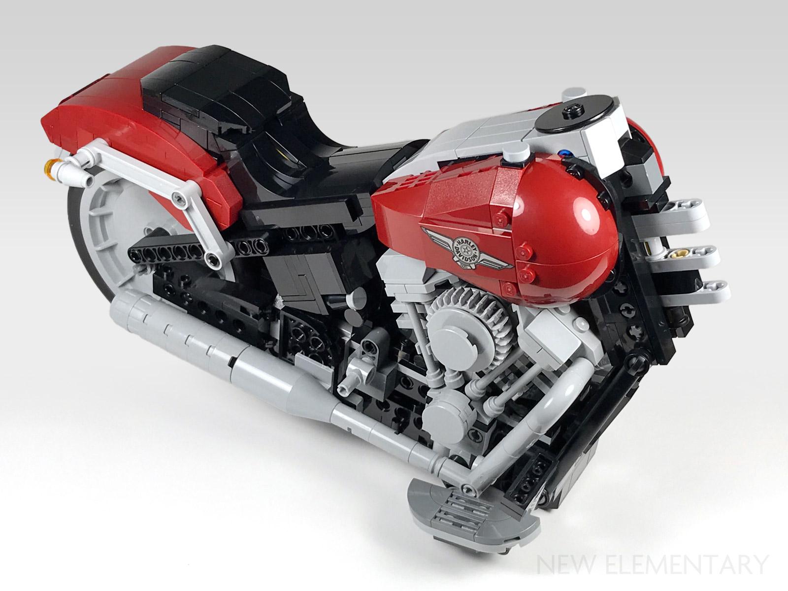 Harley Davidson: LEGO® Creator Expert Review: 10269 Harley-Davidson Fat Boy