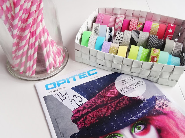 DIY- Organizador de washi tapes