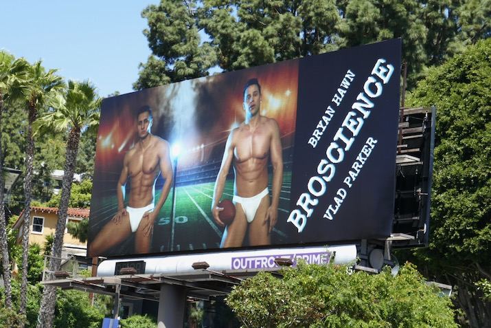 Bryan Hawn BroScience Vlad Parker billboard