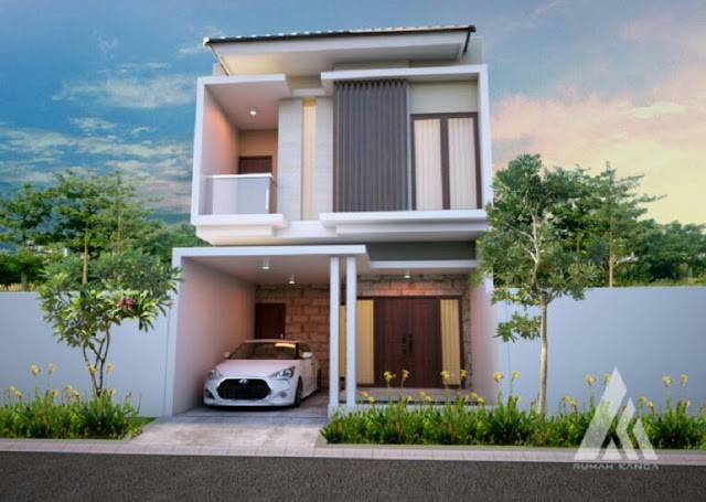 Small Size 2 Storey House Design