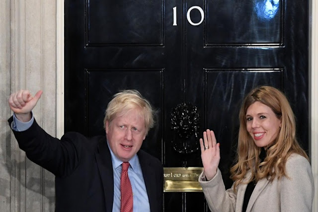UK Prime Minister Boris Johnson names son after doctors who saved him from Covid-19