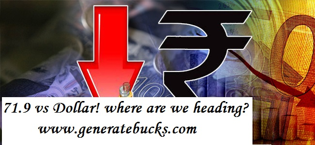 Why is Rupee falling and what should we expect from here? – Generatebucks