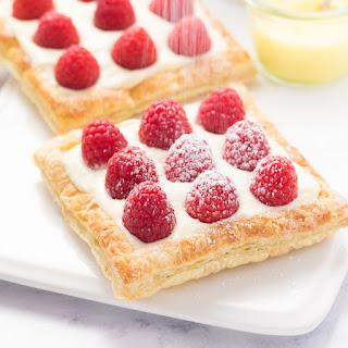 Lemon Raspberry Tarts