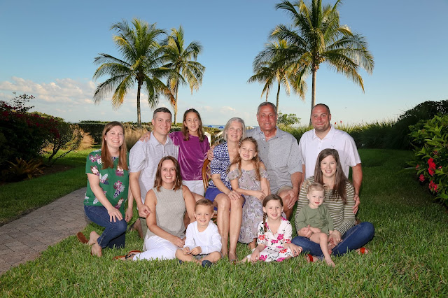 traditional family photography on the beach on Sanibel island