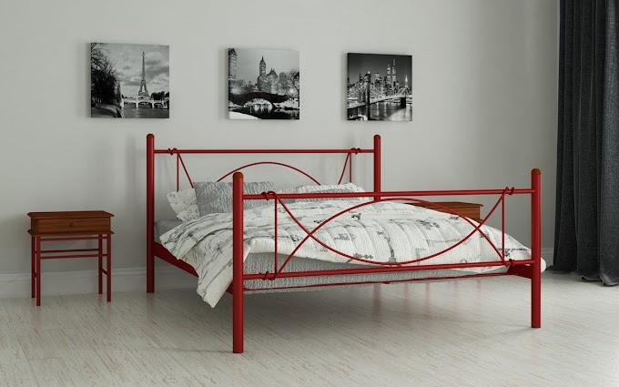 Кровать металлическая Роуз 80х190/200 ТМ Мадера