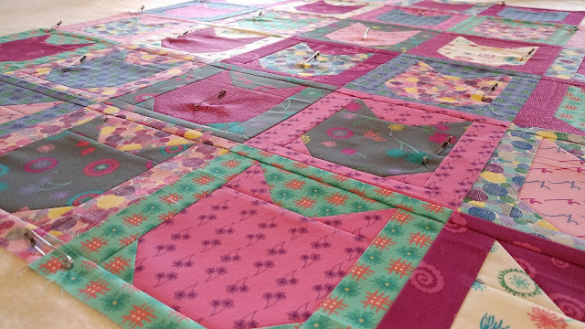 Kitty cat quilt