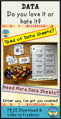 Data tips, a free resource and links to other free data sheets! Looks Like Language