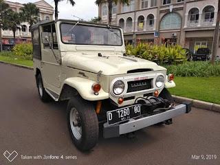 Dijual FJ40 1963 Kanvas Mesin 1F