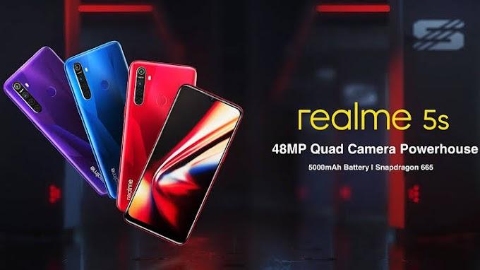 Realme 5s Dirilis, Kamera 48 Megapixel
