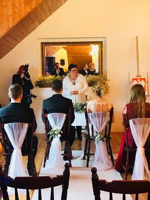 dekoracja ślubna boho Folwark Podkowa