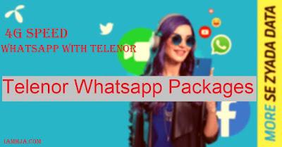 Telenor Whatsapp Packages, Telenor Whatsapp offer, Telenor Whatsapp activation code