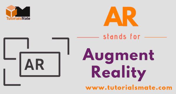 AR Full Form