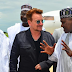 Wow! U2's Irish musician Bono arrive Maiduguri on a day official visit... photos