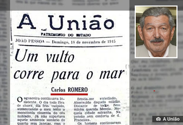 ambiente de leitura carlos romero gonzaga rodrigues jornal A Uniao recados da provincia cronica