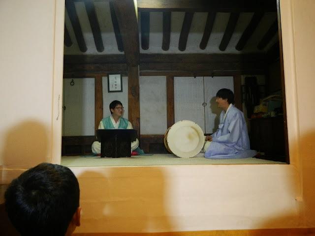 Cultural performance at Myeongjae mansion