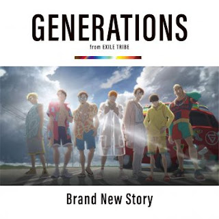 [Single] GENERATIONS from EXILE TRIBE – Brand New Story [MP3/320K/ZIP] | Theme Song Anime Movie Kimi to, Nami ni Noretara