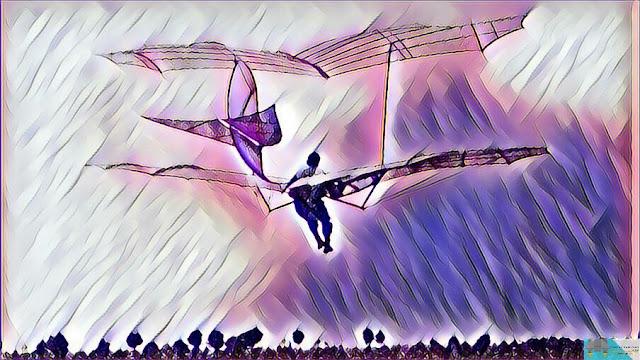 Glider Sayap Ganda Rancangan Lilienthal